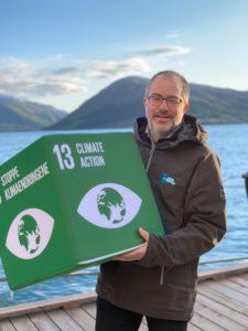 Kerim Hestnes Nisancioglu leder Rosendalsveko. Til daglig er han klimaforsker ved UiB/Bjerknes.